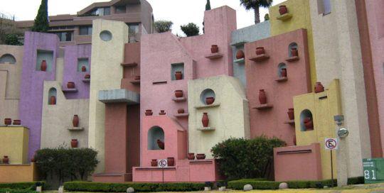 architecture au mexique