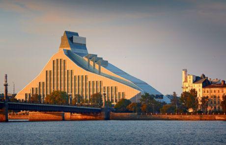 architecture en lettonie